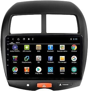 2 DIN Multimédia Voiture Stéréo Autoradio, pour Mitsubishi ASX 2010-2016 avec Caméra De Recul Soutien Bluetooth Mains Libr...