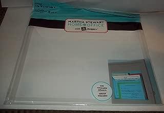 Martha Stewart Home Office Pocket 12 X 10 1/4 Removable Adhesive