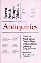 Antiquities (Postwar French Thought)