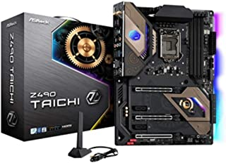ASRock Z490 Taichi Supports 10 th Gen and future generation Intel Core TM Processors (Socket 1200) motherboard