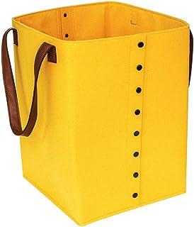 Boîte de rangement à feutre de feutre durable Banque de rangement à la main Panier Multiper Panier Panier Panier Journal P...