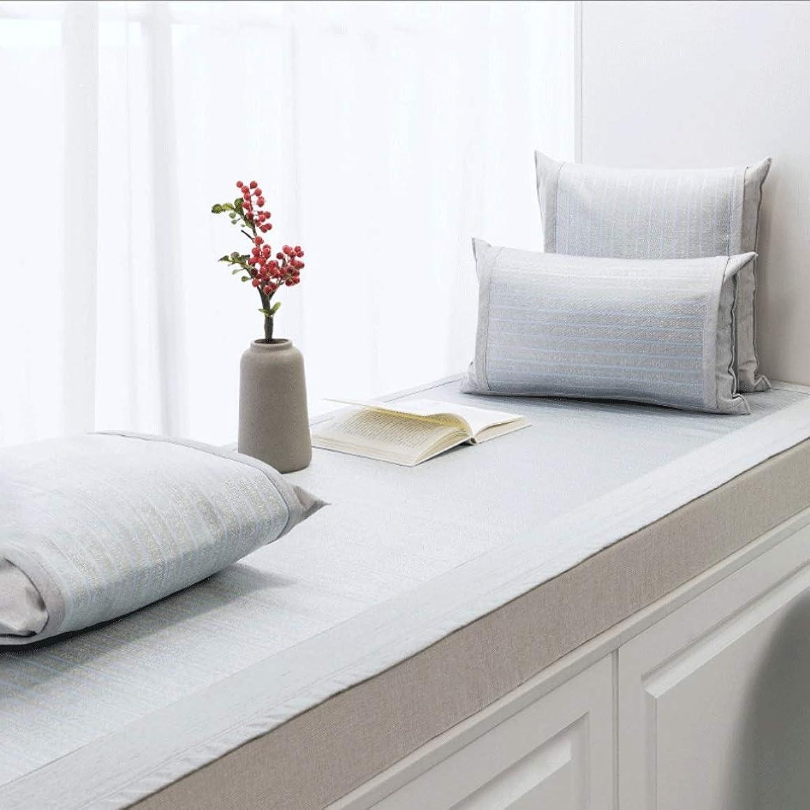 キャンプオプショナル織機出窓クッション/出窓毛布/バルコニーマット/滑り止め畳のクッション/フロート窓マット/複数の色と複数のサイズ (Color : I, Size : 45×45 CM)