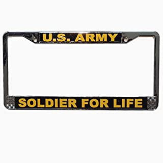 Honor Country US Army Soldier for Life License Plate Frame