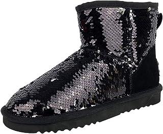Suchergebnis auf für: pailletten Stiefel Damen