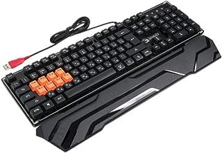 Bloody B3370R8-Light Strike RGB Mechanical Gaming Keyboard US - Brown Switch (Pack of1)