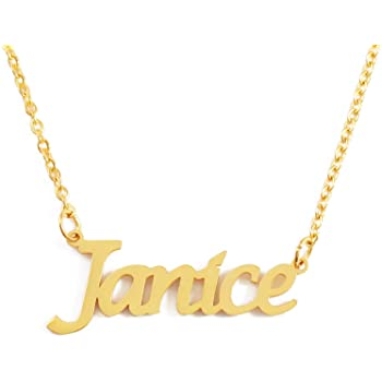 PENNY Name Necklace Stainless Steel 18ct Yellow Gold PlatedGifts For Her