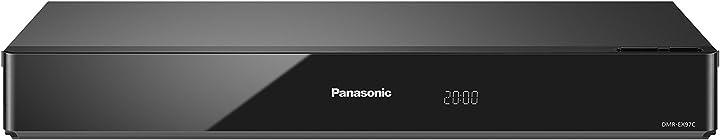 Panasonic dmr-ex97segk- registratore dvd con sintonizzatore hd dvb-s, nero (importato dalla germania)