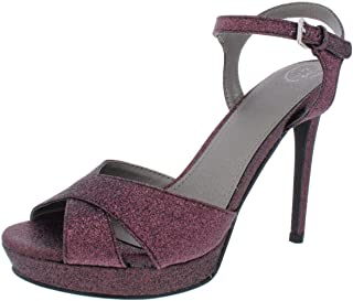 Guess Womens Jordie Peep Toe Special Occasion Strappy Sandals US