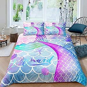61J1uWVatuL._SS300_ Mermaid Bedding Sets & Comforter Sets