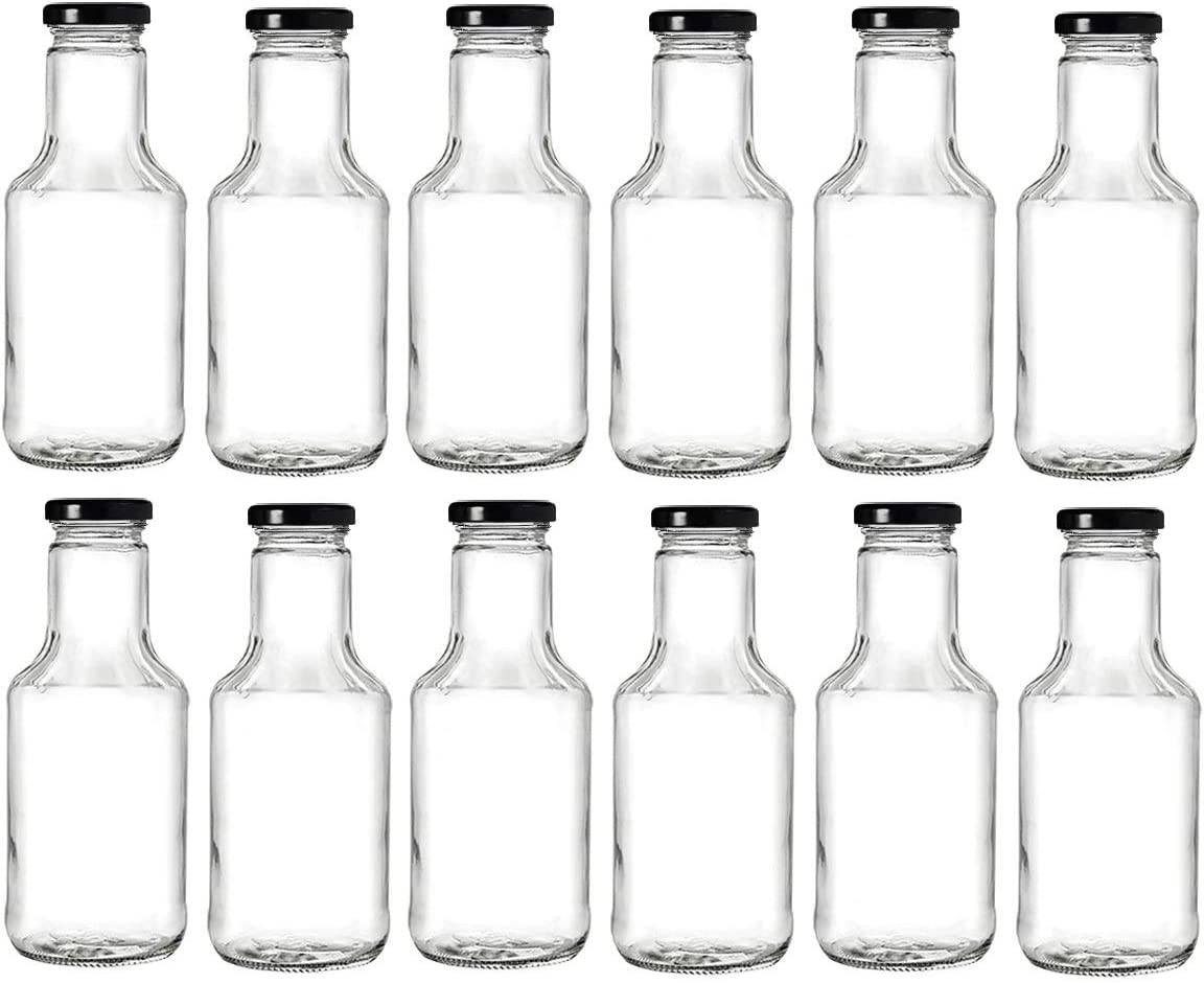 Nakpunar 14.5 oz Outstanding Wide Mouth Empty for Bottles New products world's highest quality popular Oi Glass with Lids