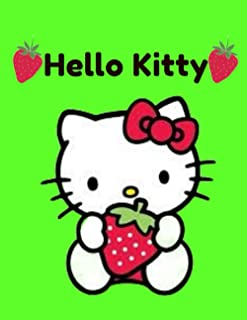 Hello Kitty: Hello Kitty Notebook Large Size 8.5in x 11in x 110 pages