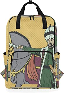 FAJRO Sultan Mochila de Moda para Escuela Vertical