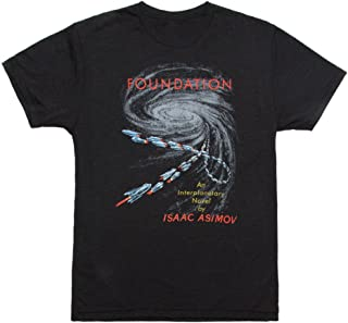 Out of Print Unisex/Men's Science Fiction Fantasy Book-Themed Tee T-Shirt