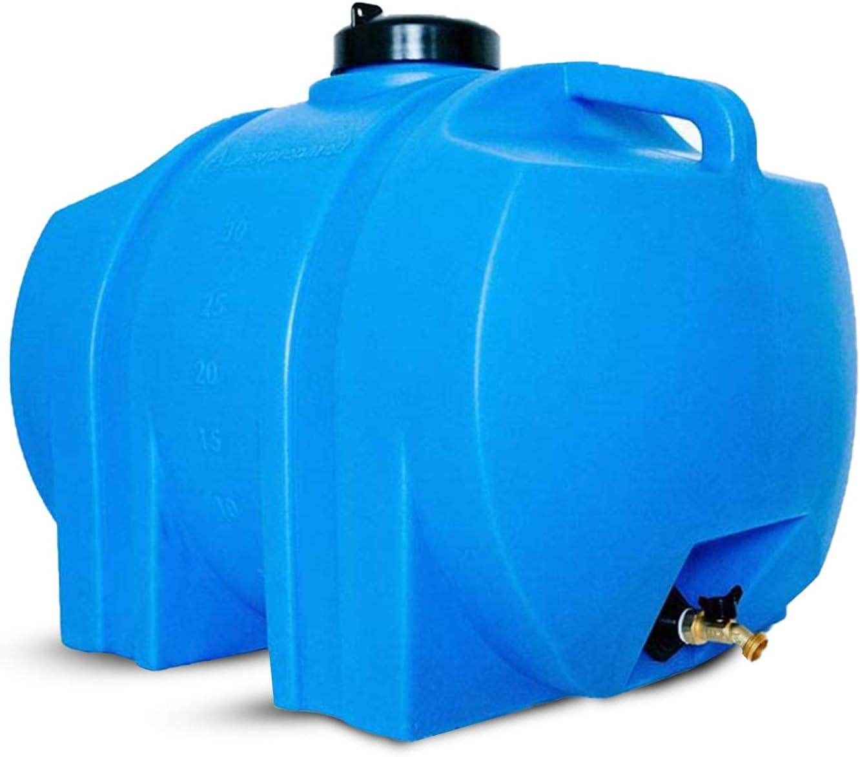 WaterPrepared 35 Gallon Water Storage Max 40% OFF Emergency Los Angeles Mall Barre Tank