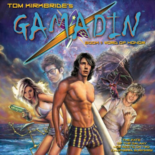 Gamadin audiobook cover art