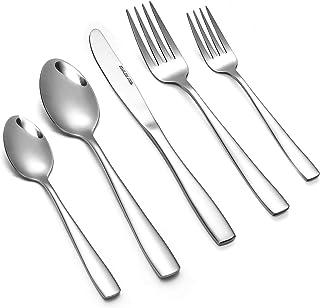 Eslite Stainless Steel Silverware Sets 40-piece Silver COMINHKG086116