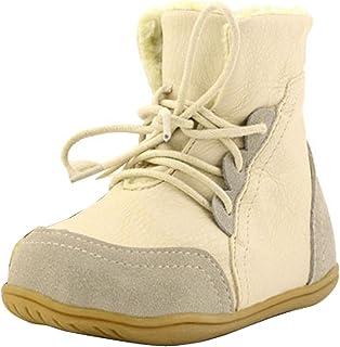 Gaorui Boys' Genuine Leather Splice Snow Boots Winter Warm Fur Shoes Hot