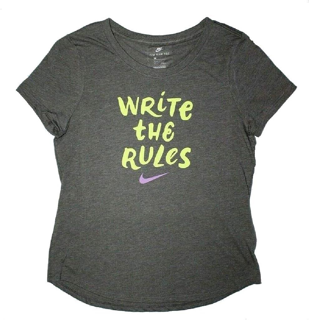 Nike Girls Write The Rules tee Shirt Grey Small
