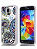 Lakaka Case for Samsung Galaxy S5 Slim Fit Floral Design