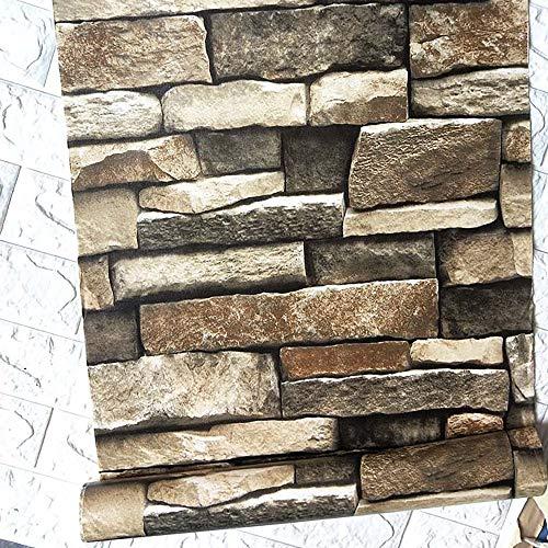 "118""×17.7"" Stacked Stone Wallpaper 3D Rock Wallpaper Peel and Stick Wallpaper Stone Self Adhesive Wallpaper Stick and Peel Wallpaper Stone Removable Wallpaper Stone Papel Tapiz Stone Vinyl Wallpaper"