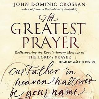 The Greatest Prayer audiobook cover art