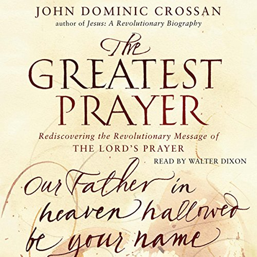 The Greatest Prayer audiobook cover art