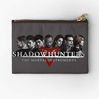 Climon Season 2 Isabelle Ightwood Vampire Mortal Instruments Simon Lewis Jace Shadowhunters Zipper Accessories Pencil Cosmetic Makeup Office Supplies and Travel Pouch