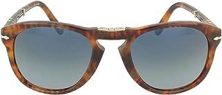 Persol STEVE MCQUEEN LIMITED EDITION PO 0714SM CAFFE'/BLUE SHADED 54/21/140 men Sunglasses