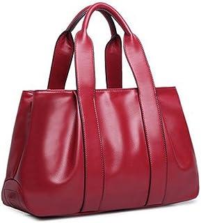(JACVAAP)2018バーストモデルMs. PU leather ヨーロッパとアメリカ ファッション 餃子バッグ 全5色 3種類のバックメソッド ショルダーバッグ メッセンジャーバッグ ヴィンテージハンドバッグ 女性の大容量 レディースバッグ