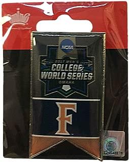 aminco Cal State Fullerton Titans 2017 NCAA Men's College World Series Banner Lapel Pin