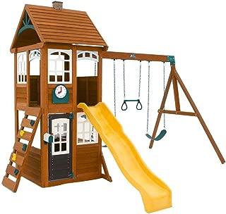 KidKraft McKinley Cedar Wood Swing Set / Playset F24950