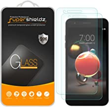 (2 Pack) Supershieldz for LG (Fortune 2) and LG K8s Tempered Glass Screen Protector, Anti Scratch, Bubble Free