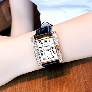 OUTAI Womens Watch Square dial Decoration Ladies Watch Roman Digital Dial
