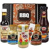 Altenburger Original Geschenkbox BBQ, Präsentkorb mit rauchig-würzigen Feinkostprodukten für Barbecue-Fans