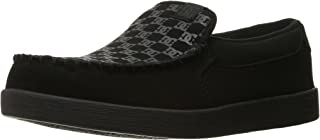 DC Men's Villain TX Slip-on Skate Shoes Skateboarding,...