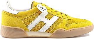 47146e386 Hogan Men Sneaker Sportive H357 in Pelle e tecnotessuto Trainers