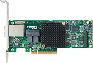 Adaptec Controller Card 2277000-R RAID 8885 Series 8 12Gb/s PCI-Express SAS/SATA Adapters Brown Box