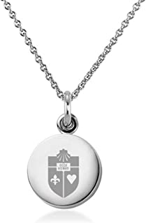 M. LA HART St. John's University Necklace with Charm in Sterling Silver