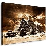 Kunstdruck Ägypten Pyramiden Leinwandbild fertig auf
