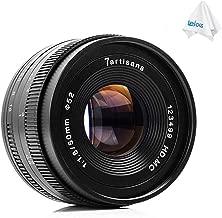 7artisans 50mm F1.8 APS-C Manual Fixed Lens for Sony E-Mount Cameras A6500 A6300 A6000 A5100 A5000 NEX-3 NEX-3N NEX-3R NEX-C3 NEX-F3K NEX-5K