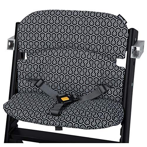 Safety 1st Timba - Cojín para trona, diseño geométrico