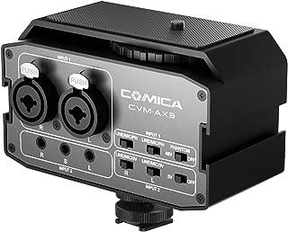 audio mixer camera