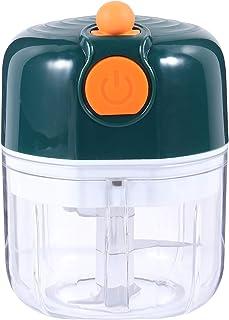TOPBATHY Electric Garlic Crusher Portable Garlic Chopper Vegetables Masher Mini Food Processor Handheld for Salad Chili Nu...