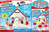Snoopy Original Sno-Cone (Snow Cone) Machine & Refill (3oz) Pack Gift Set Bundle - by Unknown