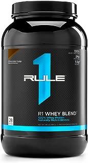 R1 Whey Blend, Rule 1 Proteins (Chocolate Fudge, 28 Servings)