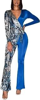 Best blue snakeskin jumpsuit Reviews