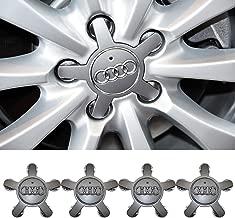 Wall Stickz Audi A4 A5 A6 A7 A8 Q5 S4 S5 S6 S8 TT R8 Hubcap Wheel Center Caps 4F0601165N 4F0 601 165 N(fit Audi 135mm)
