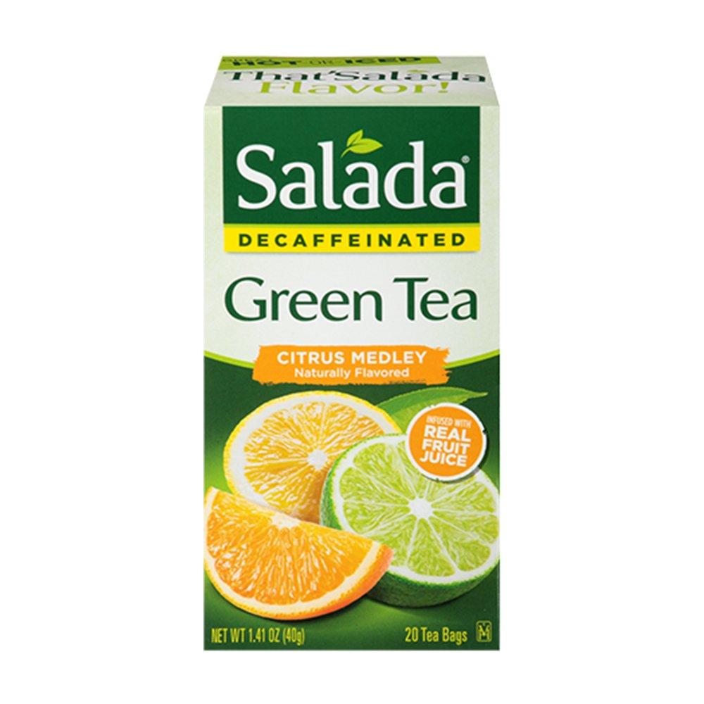 Salada Decaffeinated Citrus Super popular specialty store Medley Individually Green Wrapp Tea Ranking TOP9