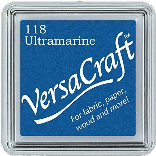 VersaCraft vks-118Stempel Stoff, kleiner Cube 25x 25mm ultramarinblau