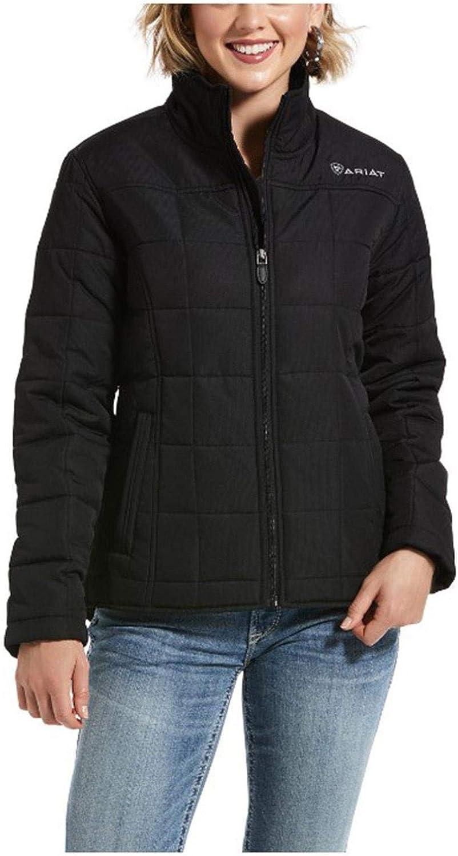 ARIAT Women's Real Crius Jacket Black 3X